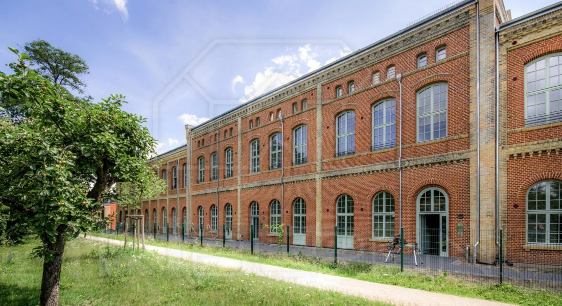 Insel Eiswerder: Moderne 2-Zimmerwohnung als Erstbezug in ehemaliger Feuerwerksfabrik 13581 Berlin, Erdgeschosswohnung