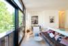 Luxuriöse Ausstattung und hochwertige Möblierung in großartiger Lage - Die Sitzecke
