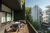 Luxuriöse Ausstattung und hochwertige Möblierung in großartiger Lage - Die sonnige Terrasse