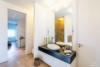 Luxuriöse Ausstattung und hochwertige Möblierung in großartiger Lage - Das Masterbad