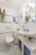 Sehr gepflegte und ruhig gelegene Gartenwohnung in grüner Wohnlage - Das Gäste-WC