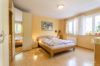 Sehr gepflegte und ruhig gelegene Gartenwohnung in grüner Wohnlage - Das Schlafzimmer