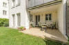 Sehr gepflegte und ruhig gelegene Gartenwohnung in grüner Wohnlage - Die sonnige Terrasse