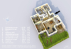 Sehr gepflegte und ruhig gelegene Gartenwohnung in grüner Wohnlage - 3D-Grundriss