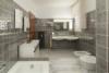 Gepflegtes Mehrfamilienhaus in ruhiger Lage Frohnaus - Badezimmer EG-Whg.
