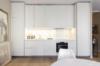 Modernes und komfortables Wohnen in einer ruhigen Seitenstraße des Kurfürstendamms - Die offene Küche