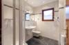 Gepflegte Dachgeschosswohnung mit 3 Zimmern und Balkon in ruhiger und grüner Lage - Das Badezimmer