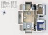 Gepflegte Dachgeschosswohnung mit 3 Zimmern und Balkon in ruhiger und grüner Lage - Der Grundriss