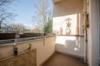 Solide vermietete 2-Zimmerwohnung im grünen Wittenau - Der Balkon