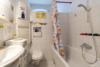 Vermietete Altbauwohnung mit 2 Zimmern und Balkon in ruhiger Lage - Das Badezimmer