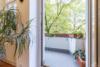 Vermietete Altbauwohnung mit 2 Zimmern und Balkon in ruhiger Lage - Der Balkon