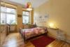 Vermietete Altbauwohnung mit 2 Zimmern und Balkon in ruhiger Lage - Das Schlafzimmer