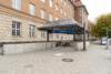 Vermietete Altbauwohnung mit 2 Zimmern und Balkon in ruhiger Lage - U-Bhf. Rohrdamm