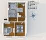 Renovierte 3-Zimmerwohnung in zentraler Lage Mittes - Grundriss