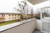 Frisch renovierte, helle 2-Zimmerwohnung in ruhiger Lage Marienfeldes - Der Balkon