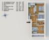 Freie und helle 3-Zimmerwohnung mit sonnigem Balkon - Grundriss