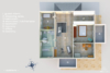 Reside in Berlin-Tegel Representative villa including many safety features - 3dGrundriss OG E
