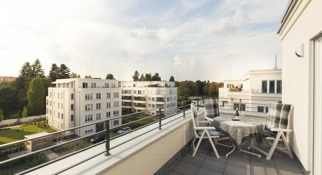 Fantastisches Wohnen auf Zeit in möbliertem Penthouse 14167 Berlin, Penthousewohnung