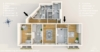 5-Zimmerwohnung mit 2 Balkonen im ruhigen Körnerkiez - Der Grundriss