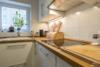 Möblierte 2-Zimmerwohnung mit Balkon und Stellplatz in zentraler Lage Moabits - Die Küche