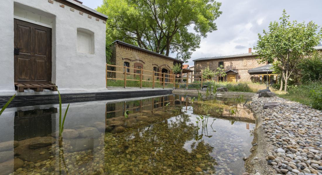 Idyllisch-historisches Haus mit Ausbaureserve und Schwimmteich 16230 Sydower Fließ (OT Tempelfelde), Einfamilienhaus