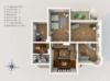 Exklusives Leben und Arbeiten in der Villa Maurer - Grundriss 1. OG