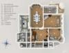 Exklusives Leben und Arbeiten in der Villa Maurer - Grundriss Beletage