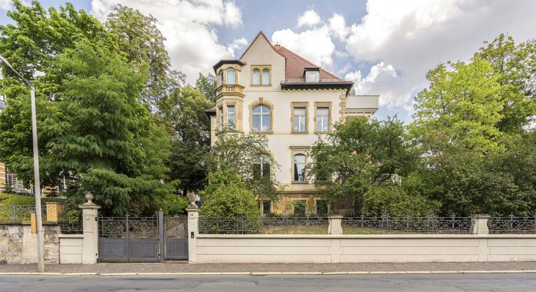 Exklusives Leben und Arbeiten in der Villa Maurer 07545 Gera, Villa