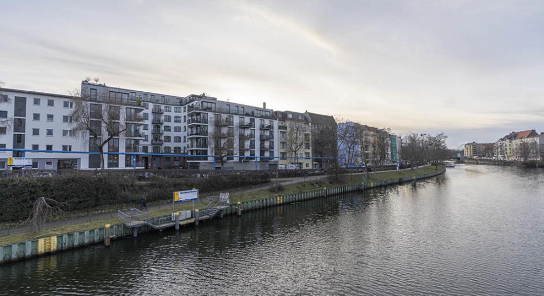 Befristete Vermietung für 4 Jahre mit Spreeblick: moderne 4-Zimmerwohnung mit Balkon 10587 Berlin, Etagenwohnung