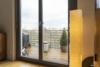 Befristete Vermietung für 4 Jahre mit Spreeblick: moderne 4-Zimmerwohnung mit Balkon - Blick auf den Balkon