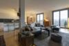Befristete Vermietung für 4 Jahre mit Spreeblick: moderne 4-Zimmerwohnung mit Balkon - Der große Wohnbereich