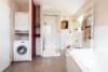 Kernsanierte Wohnung mit hochwertiger Ausstattung - Das Badezimmer en-suite