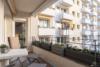 Kernsanierte Wohnung mit hochwertiger Ausstattung - Der größere Balkon