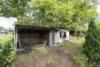 Baugrundstück für z.B. ein Doppelhaus oder 2 Häuser in Blankenfelde-Mahlow - Schuppen linkes Grundstück