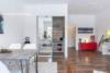 Bezugsfreies Apartment vis-à-vis zum Schloss Charlottenburg - Vom Essbereich zur Küche