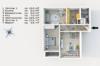 RESERVIERT: Sanierungsbedürftige, bezugsfreie 3-Zimmerwohnung mit Südwest-Balkon - Der Grundriss