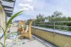 Bezugsfreie DG-Maisonettewohnung mit grünem Blick über Pankow - Die obere Terrasse