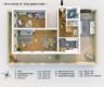 Bezugsfreie DG-Maisonettewohnung mit grünem Blick über Pankow - Grundriss 5. OG