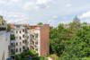 Bezugsfreie DG-Maisonettewohnung mit grünem Blick über Pankow - Ausblick der unteren Terrasse