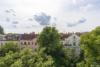 Bezugsfreie DG-Maisonettewohnung mit grünem Blick über Pankow - Ausblick der oberen Terrasse