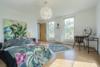 Bezugsfreie DG-Maisonettewohnung mit grünem Blick über Pankow - Das Schlafzimmer