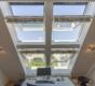 Helle Dachgeschosswohnung mit offenem Wohnbereich und zwei Terrassen - Freier Blick, freier Geist