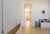Helle Dachgeschosswohnung mit offenem Wohnbereich und zwei Terrassen - Blick Studio - Schlafzimmer