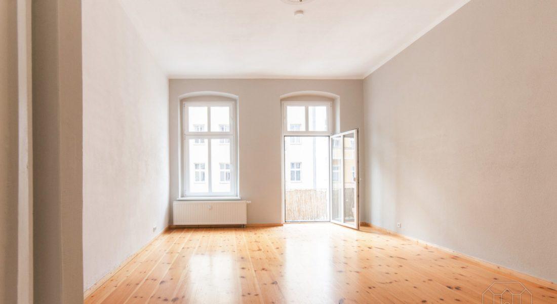 Charmante Altbauwohnung mit Balkon direkt im Samariterviertel 10249 Berlin, Etagenwohnung