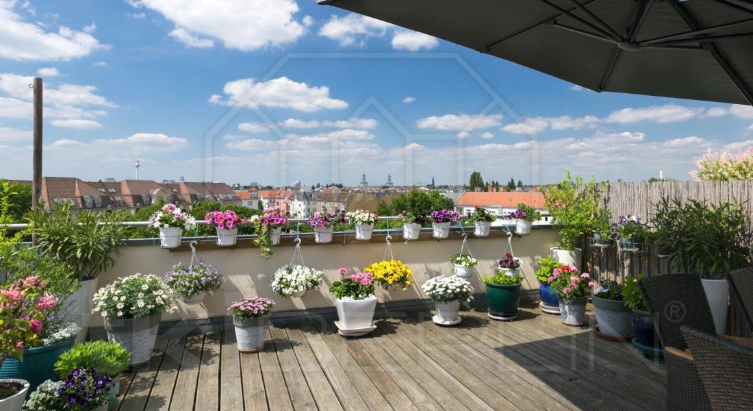 Max-Kreuziger-Haus: Maisonette mit fantastischen Aussichten 10245 Berlin, Maisonettewohnung